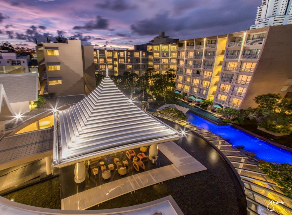 Grand Mercure Phuket Patong at Sunset