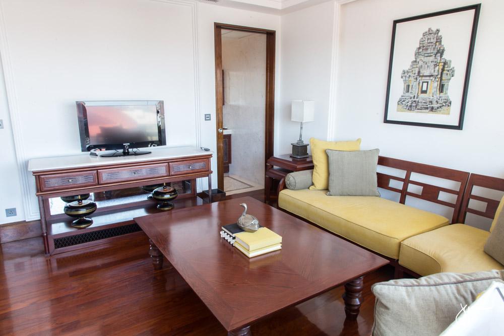 Park Hyatt Siem Reap Suite Living Room