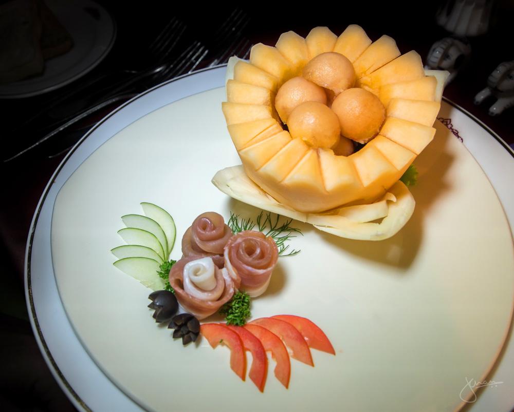 Prosciutto & Melon Balls