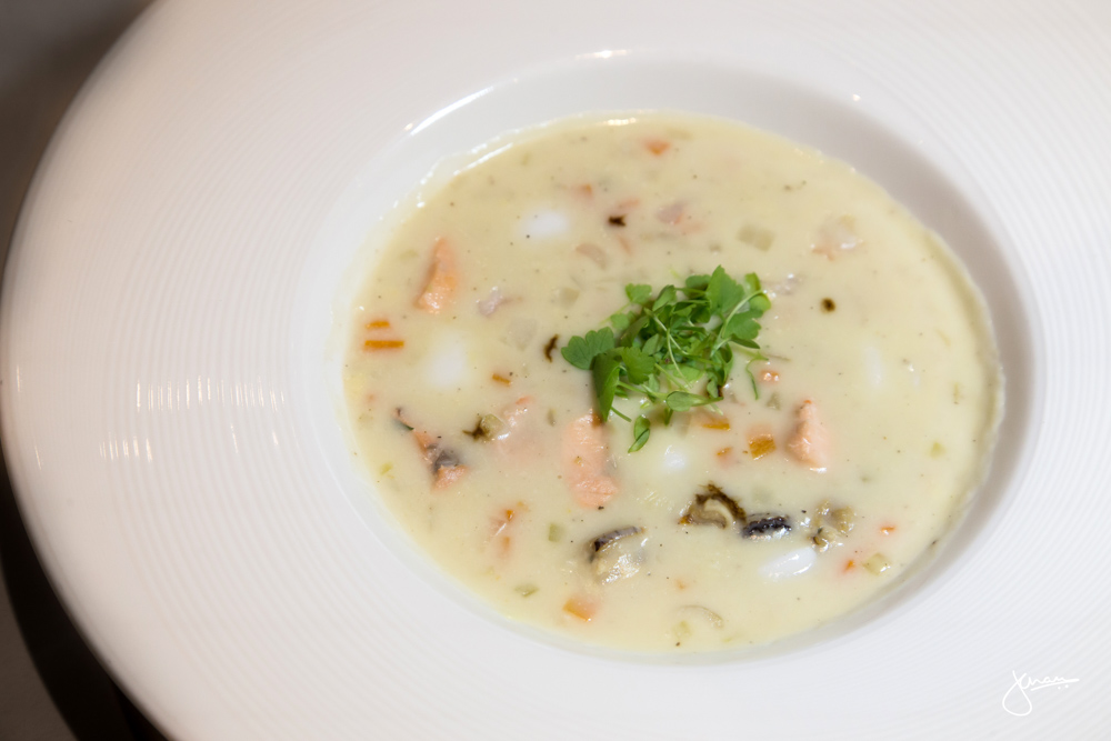 137 Pillars Seafood Chowder