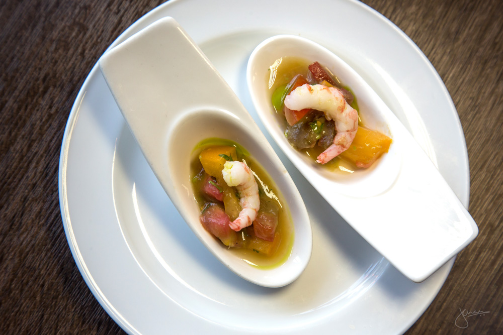 Amuse Bouche - Shrimp Salsa