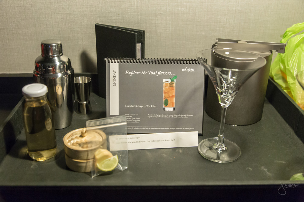 Make your own Cocktail In-Room