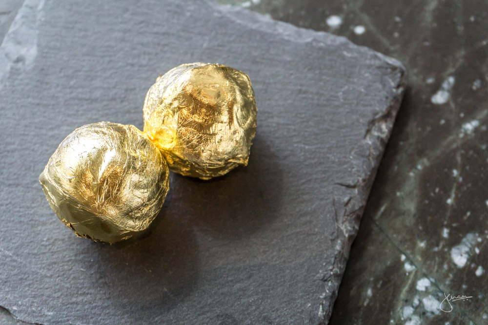 Louis XIII Truffles Wrapped with Gold