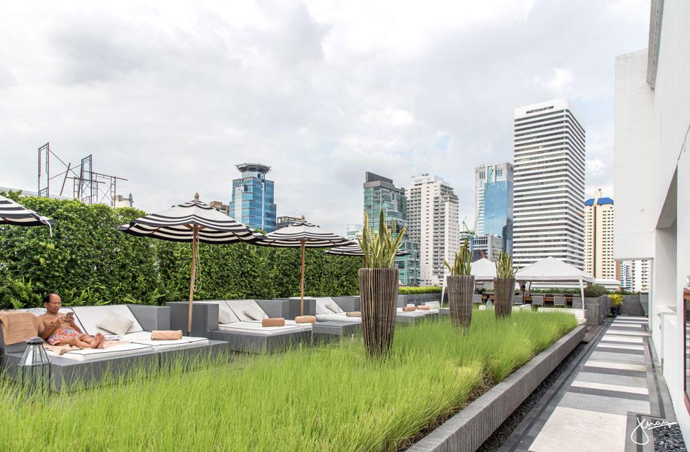 Movenpick Bangkok Rooftop Pool