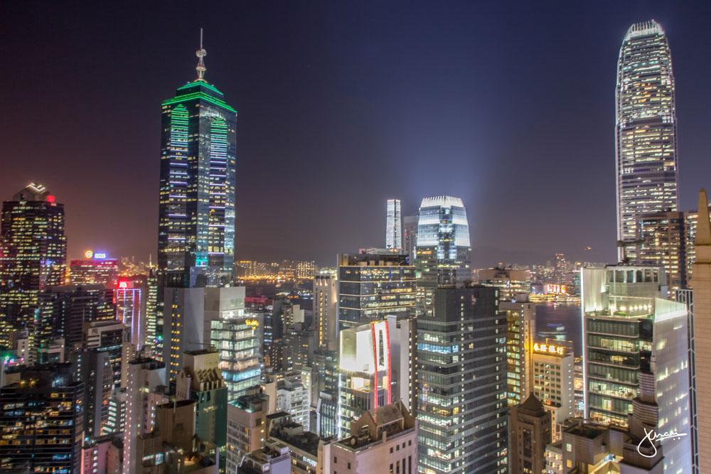 Ce La Vi Rooftop Bar Views - NIGHT