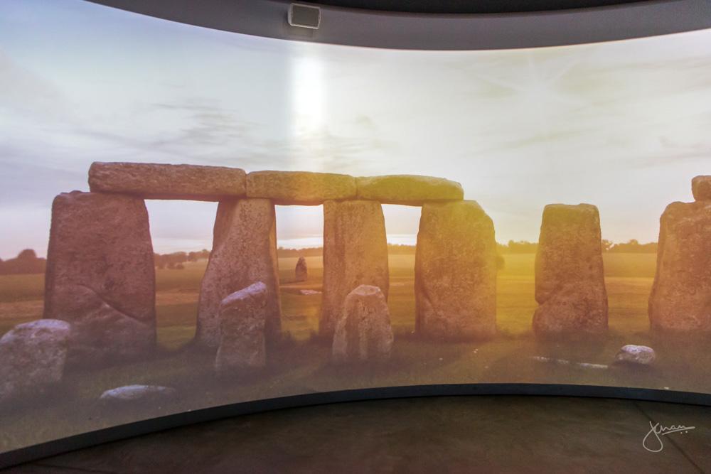 inside the Stonehenge