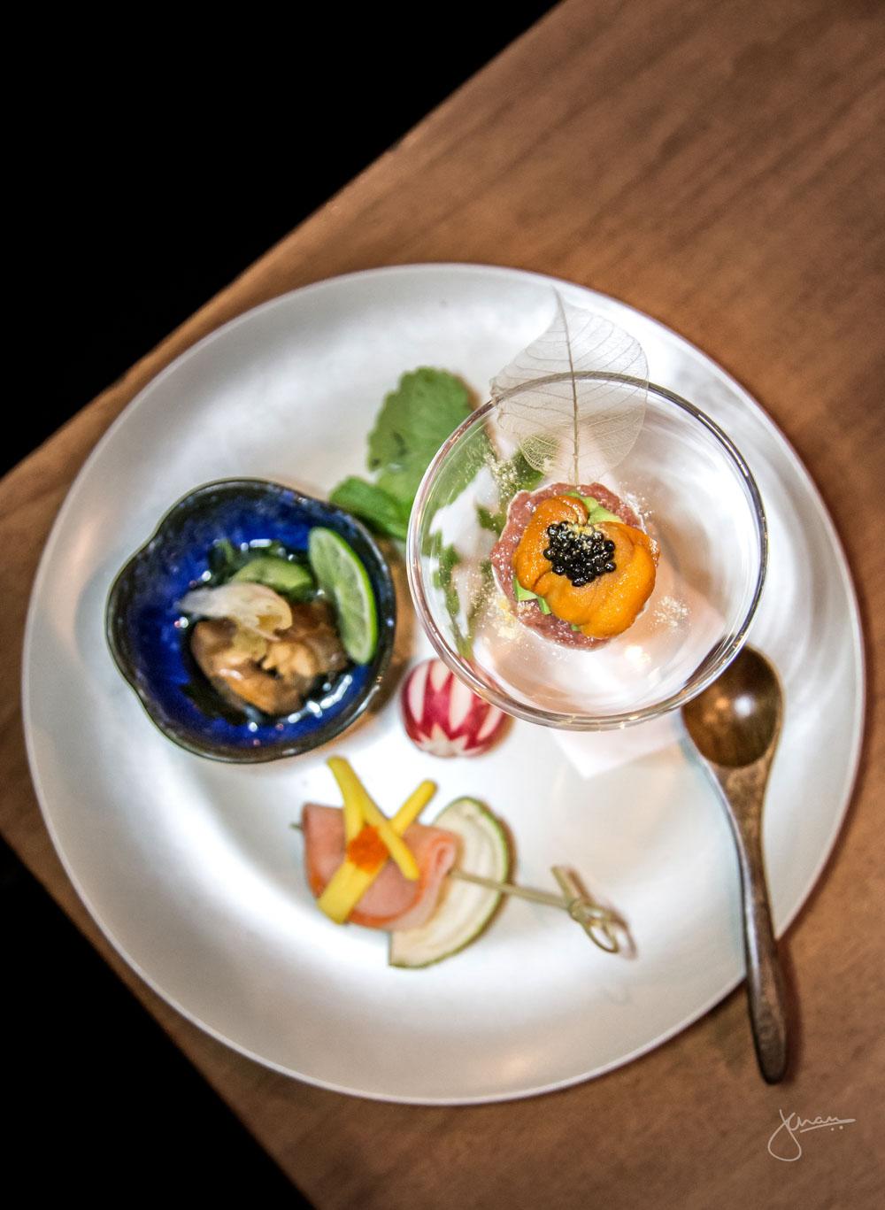Bistro Sakana Omakase Appetizer