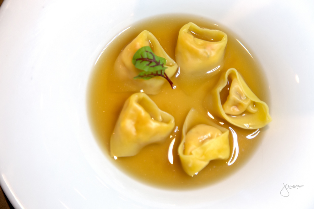 Marche | Lobster Tortellini in Lobster Brodo
