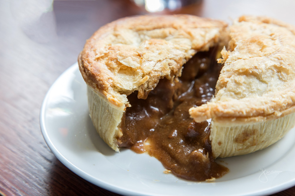 Steak Pie at Turner's Old Star