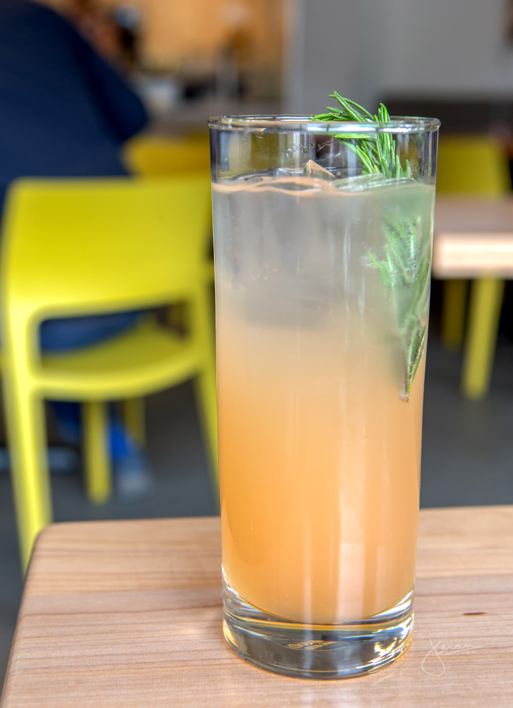 New Mocktail: Tractor Natural