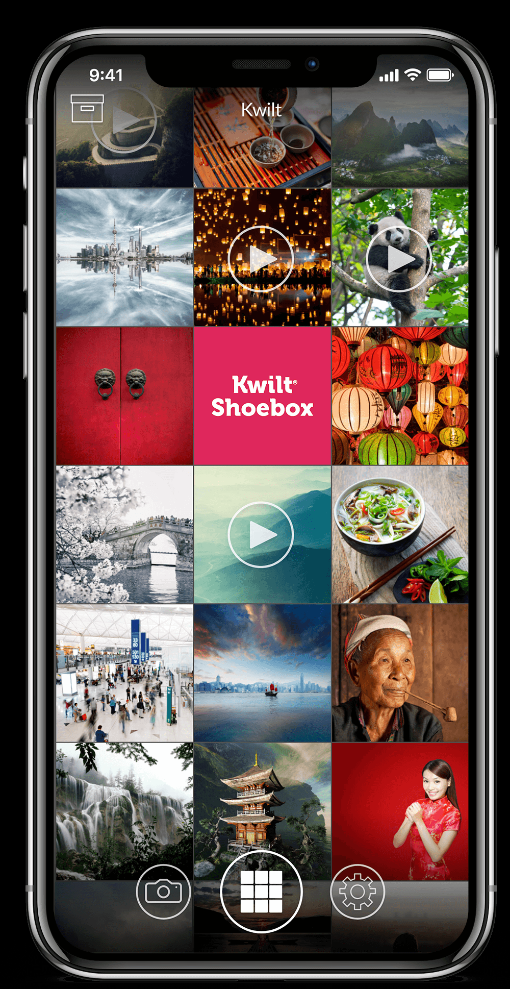 Kwilt Shoebox Plus App