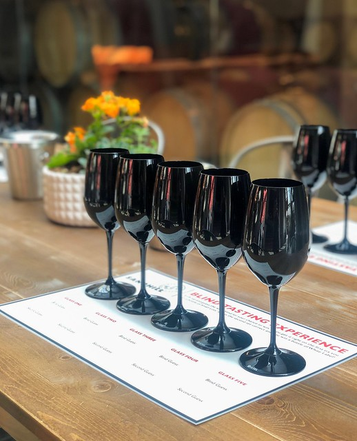 Blind Tasting Experience at Sandhill Wines