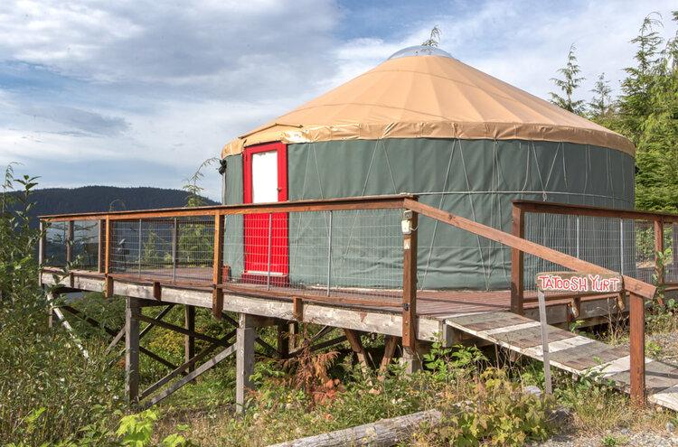Tatoosh Yurt at Soule Creek Lodge