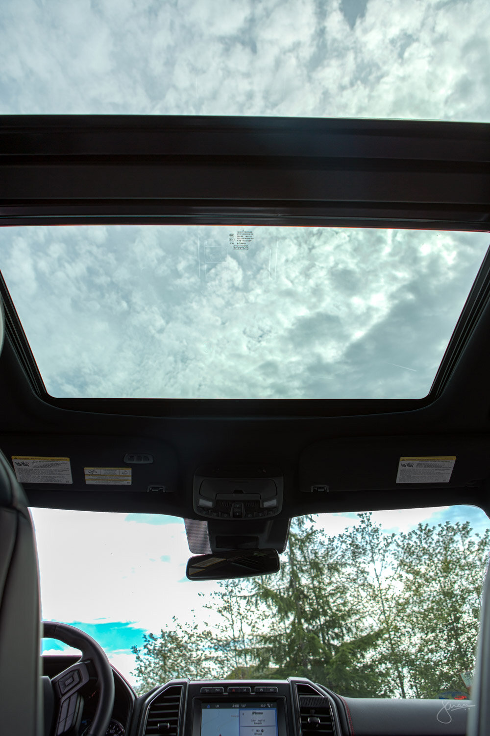 Ford Expedition Panoramic Vista Roof