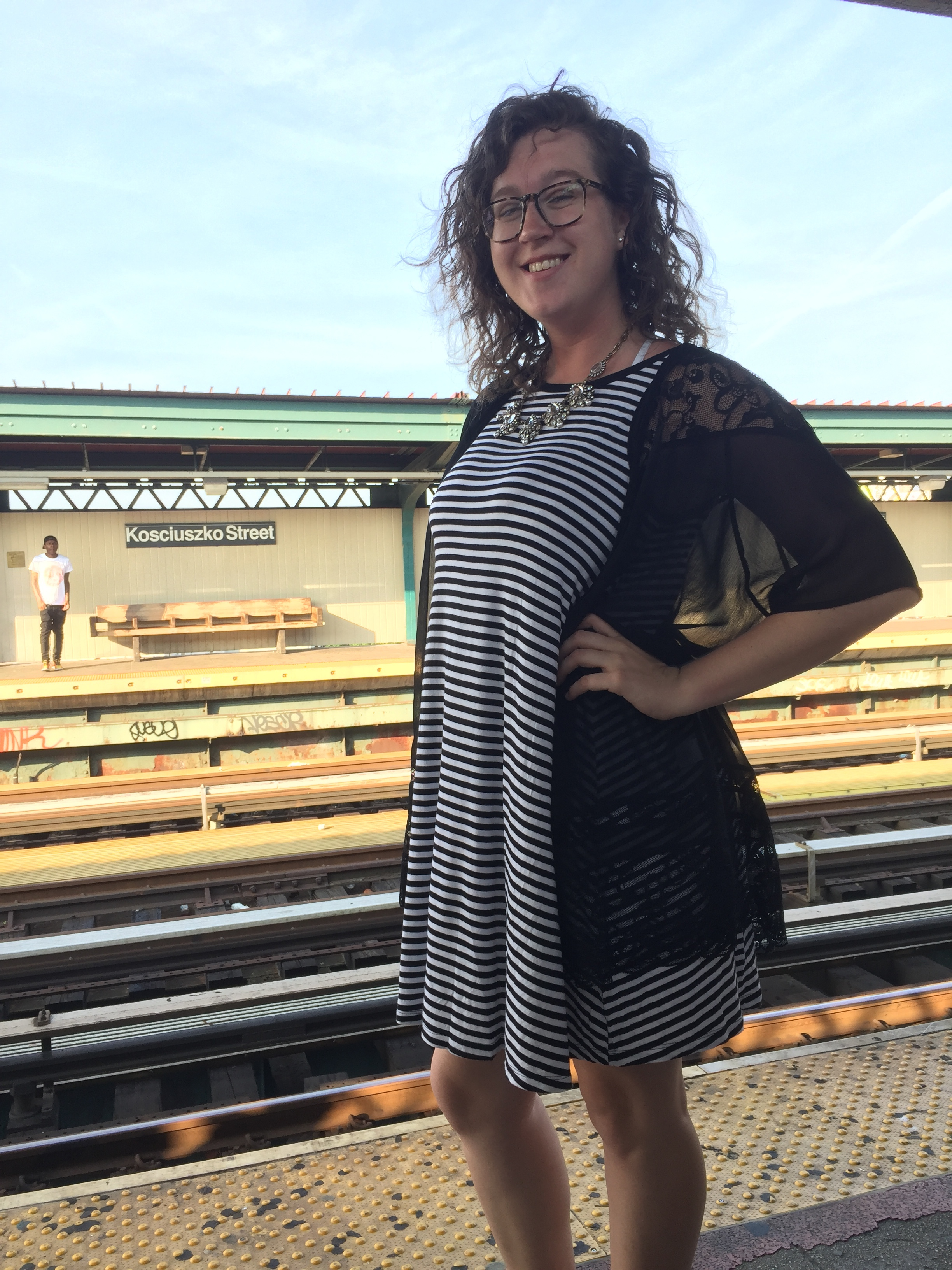 Aug 21–Ready for my first day of work at the subway station before my first daily commute.