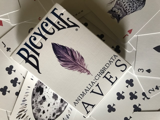 bicycle aves uncaged cards and tuck.JPG
