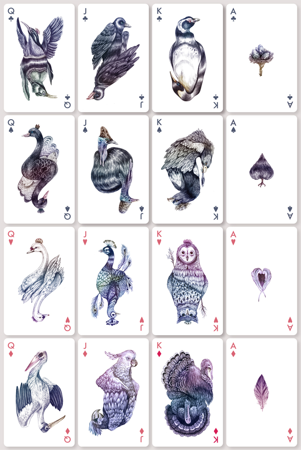 AVES playing cards, Bicycle Uncaged