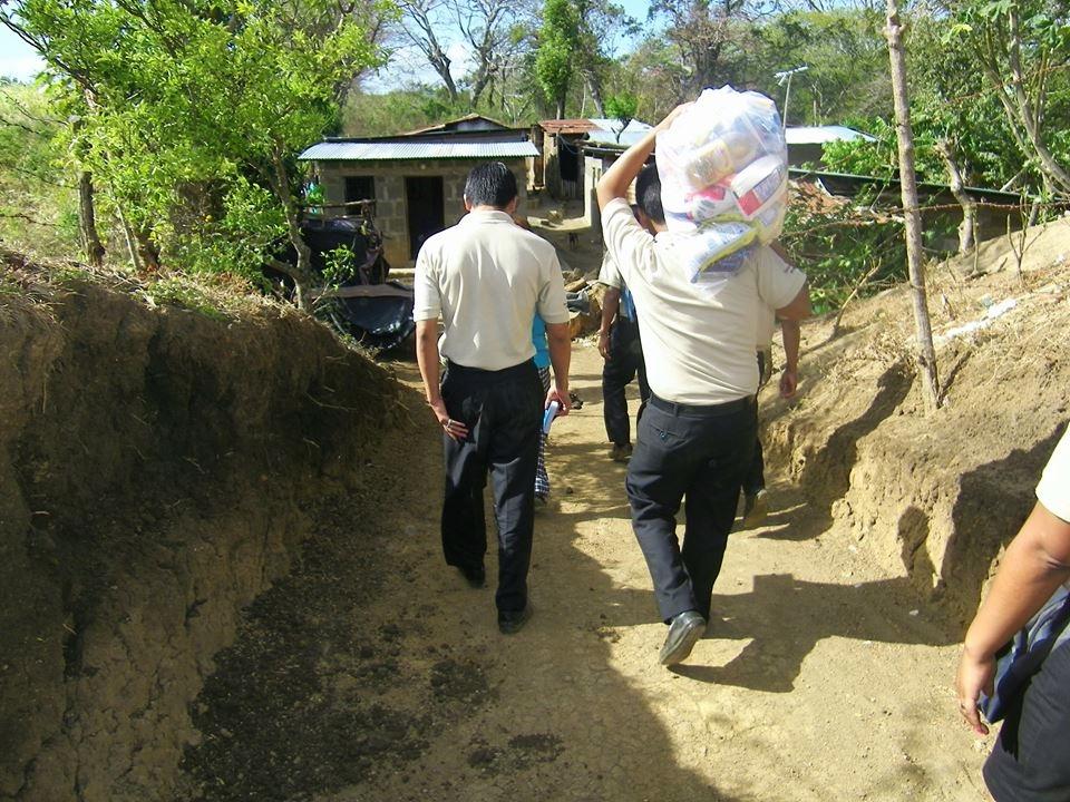 Nicaraguan mission team