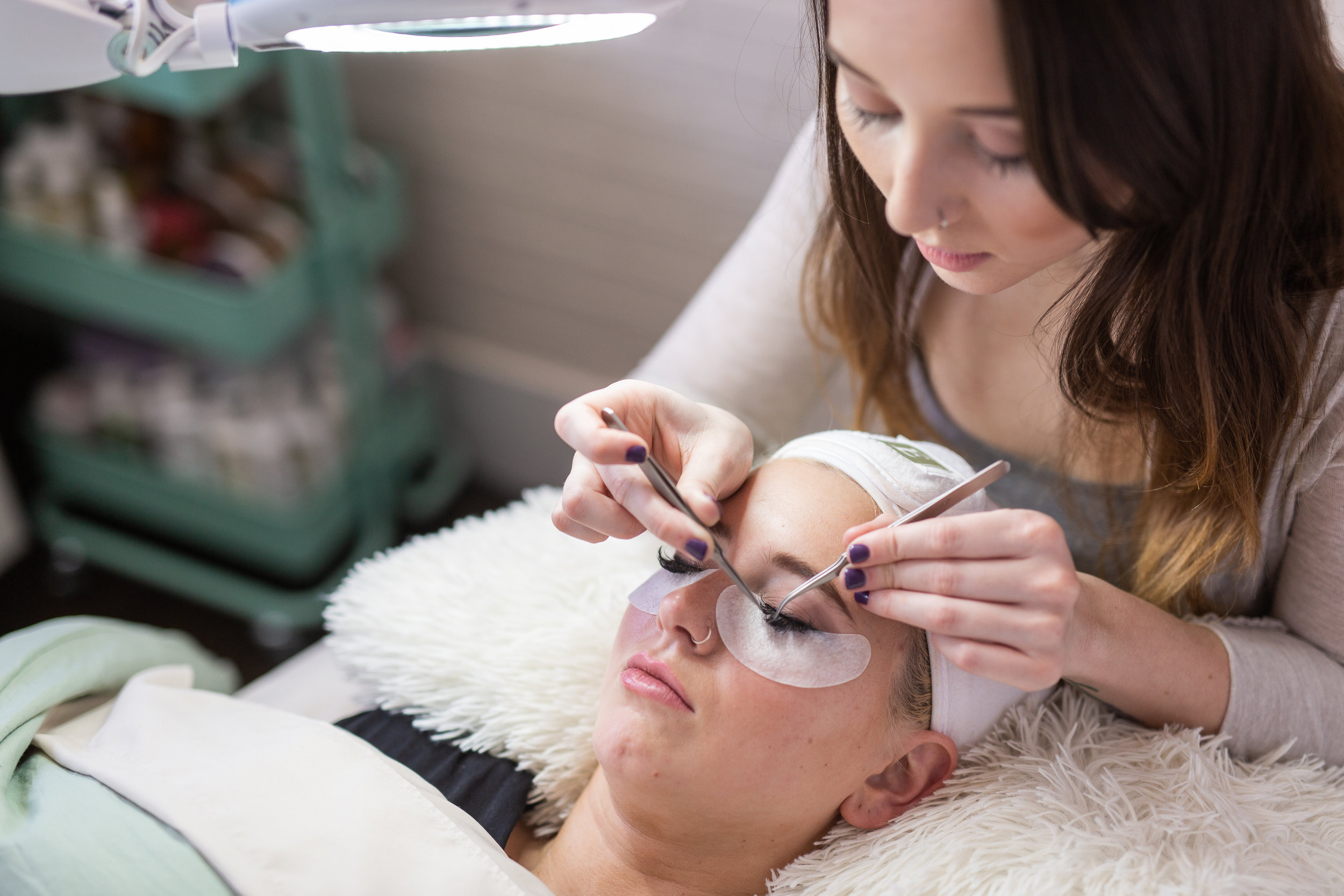 Eyelash Services - Depending on the condition of the lashes at the time of your service, lash fills may require more time