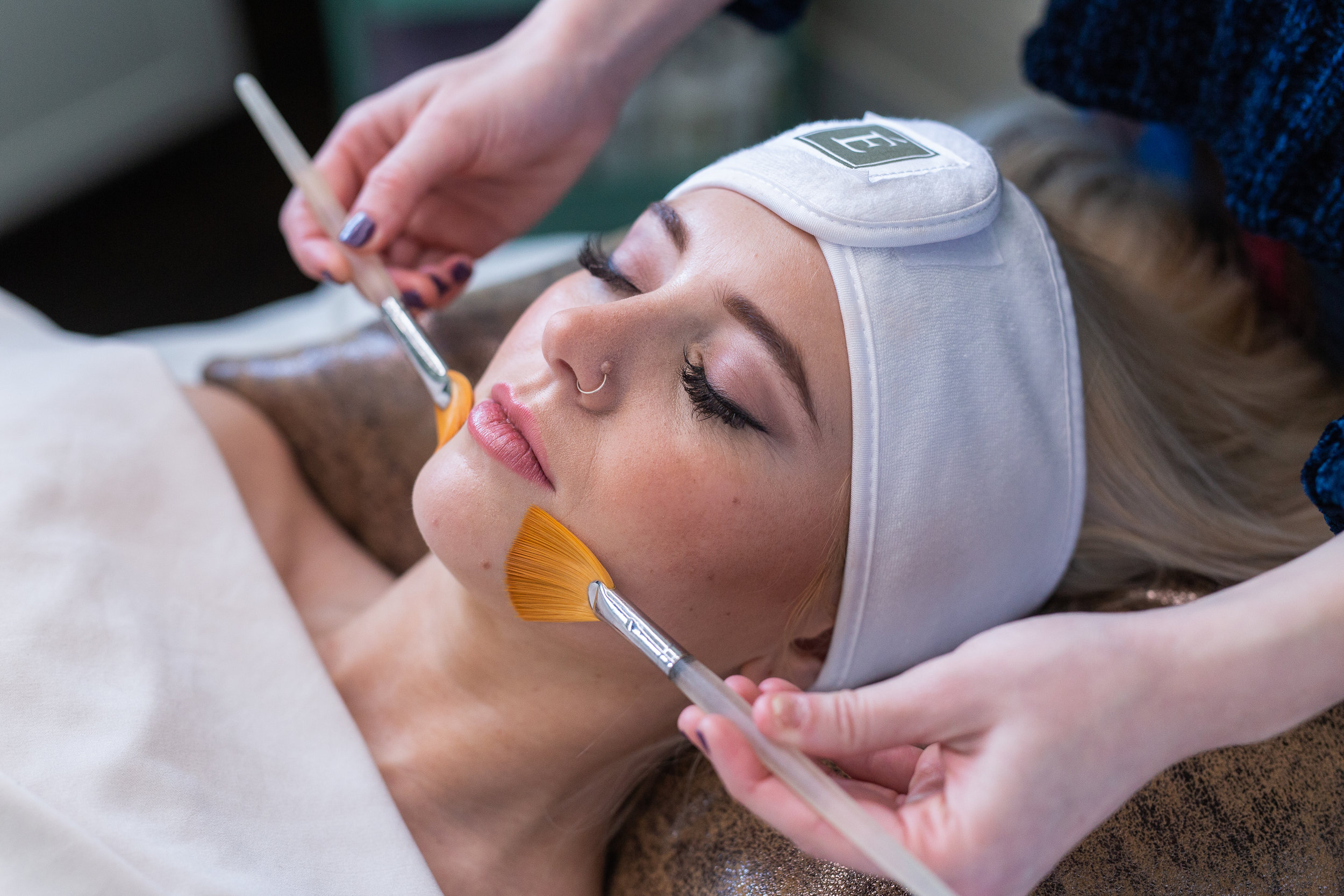 Red Carpet Facials - With the use of the Eminence Organic Skin Care products, we will leave your skin red carpet ready. This menu is designed to maximize your time in service by delivering instant results.Facials are available only at the Nashville location at this time