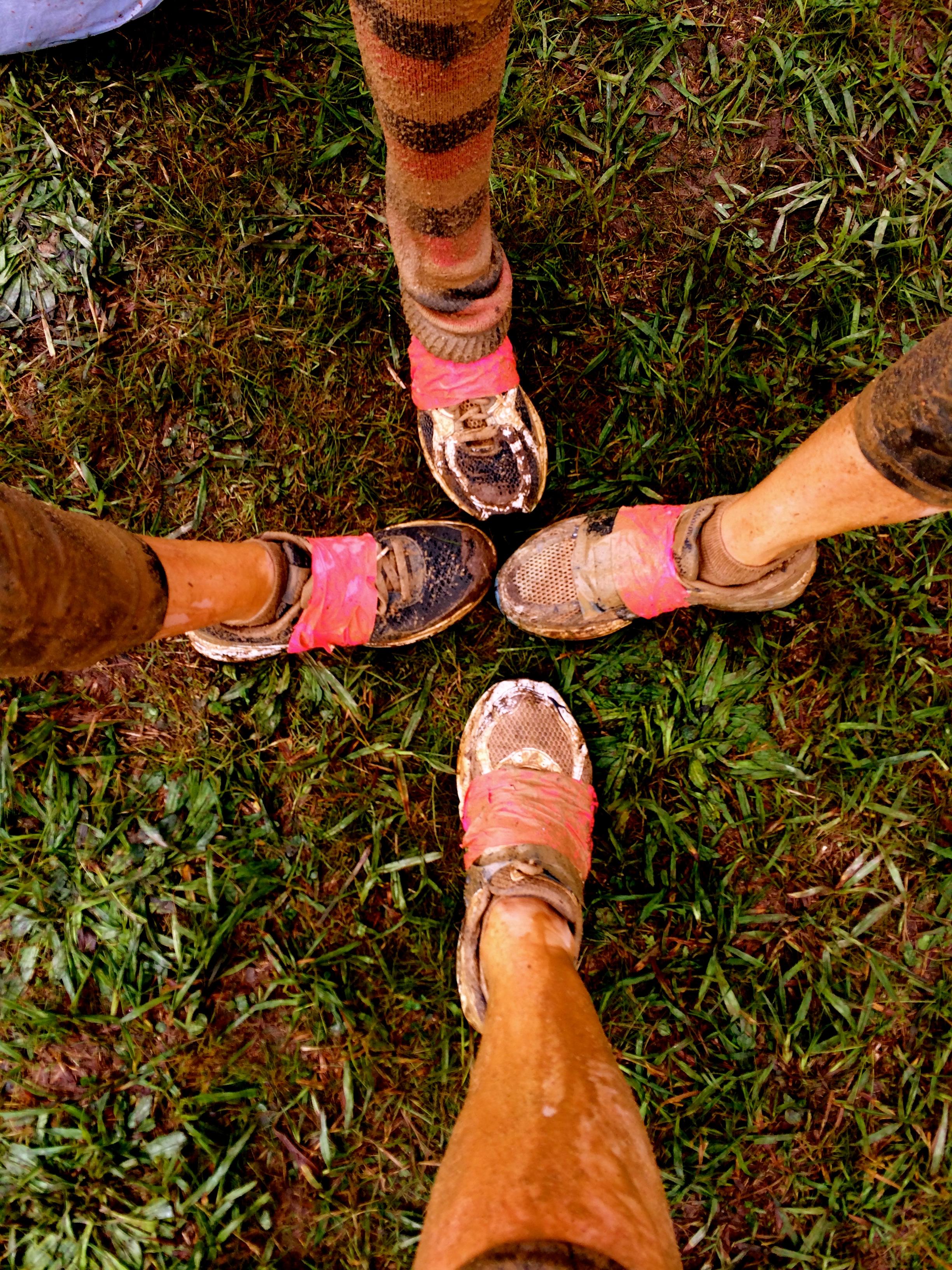 Dirty Girl Mud Run with my Friends