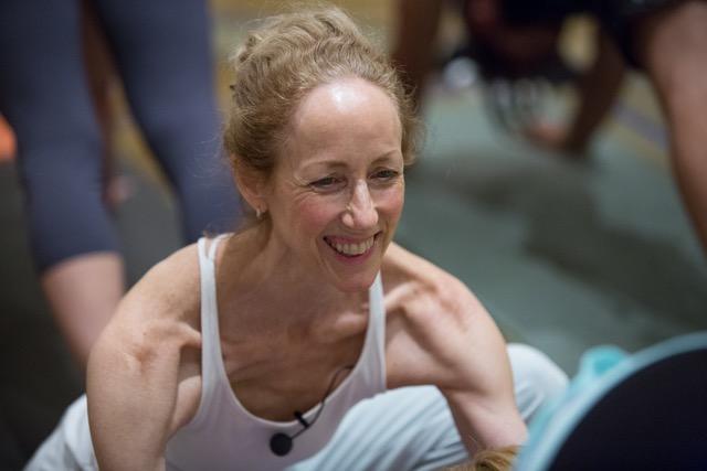 Annie Carpenter  teach & creator of SmartFLOW Yoga