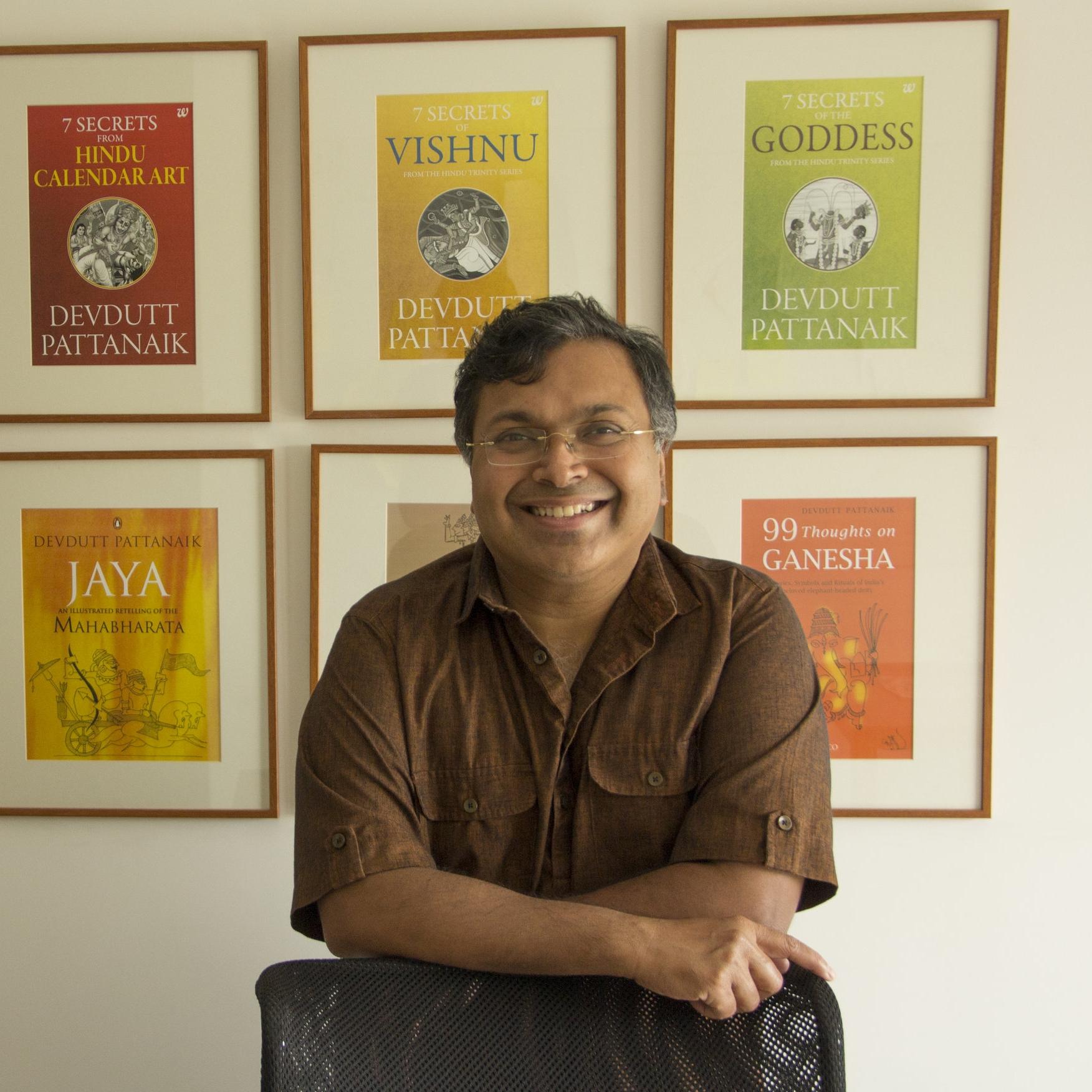 Devdutt Pattanaik    author &philosopher