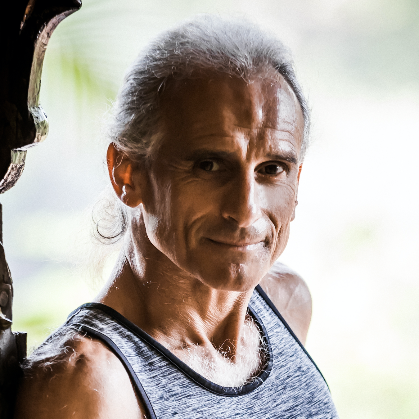 Simon Borg Olivier   co-founder of Yoga Synergy