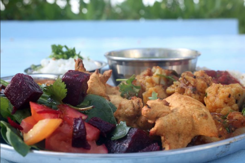 Nourishing, Satvic meals -