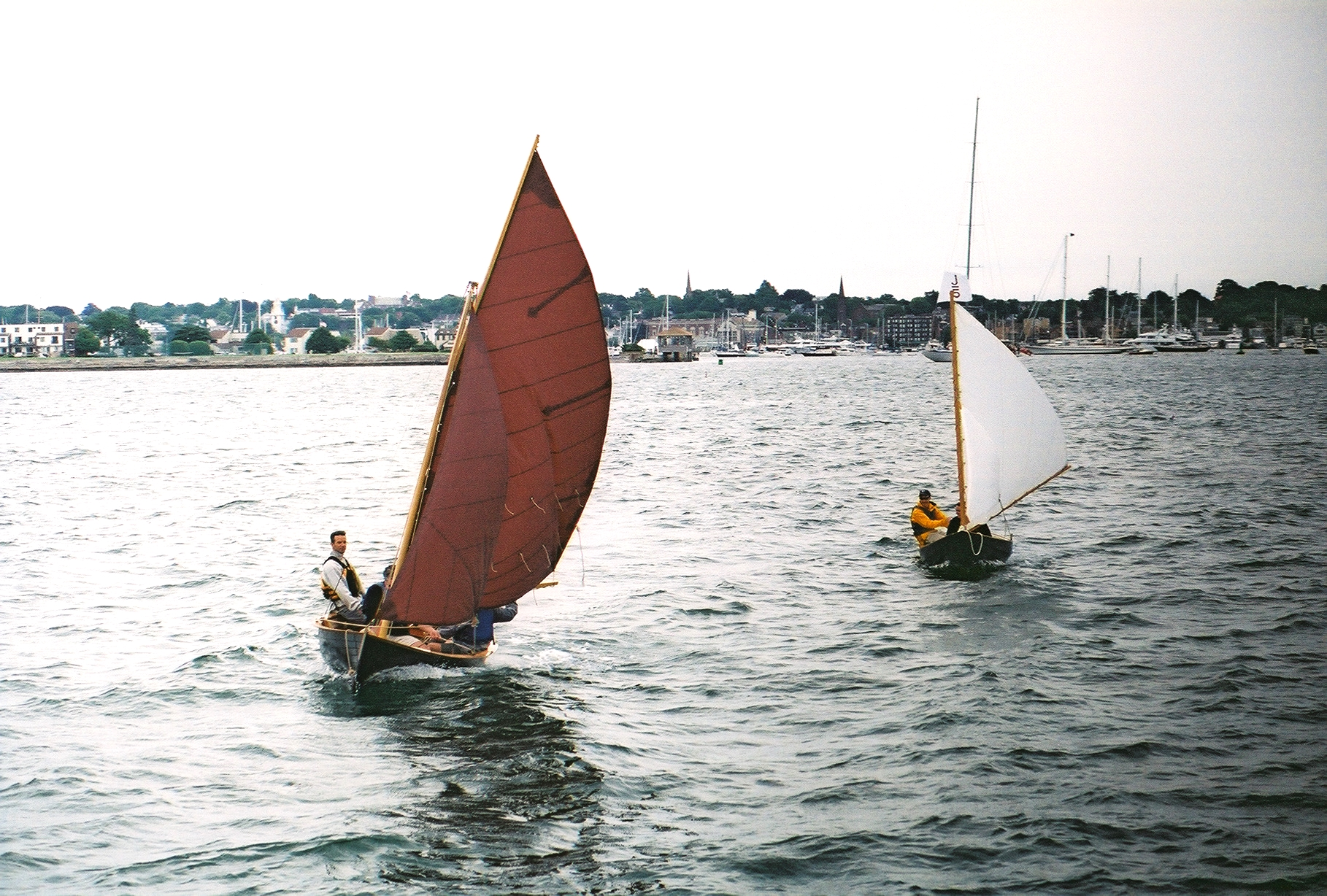Small and Fred Dion Dory Sailing
