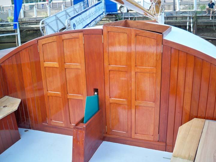 Doors for catboat Silent Maid