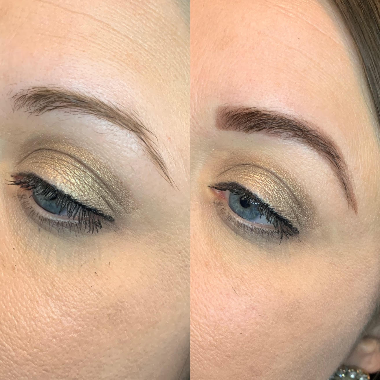 Henna Brows Before + After