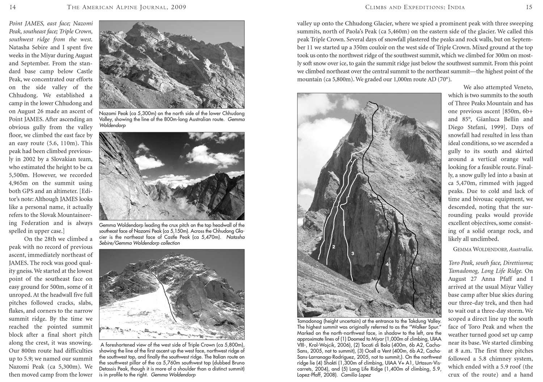 American Alpine Journal 2009