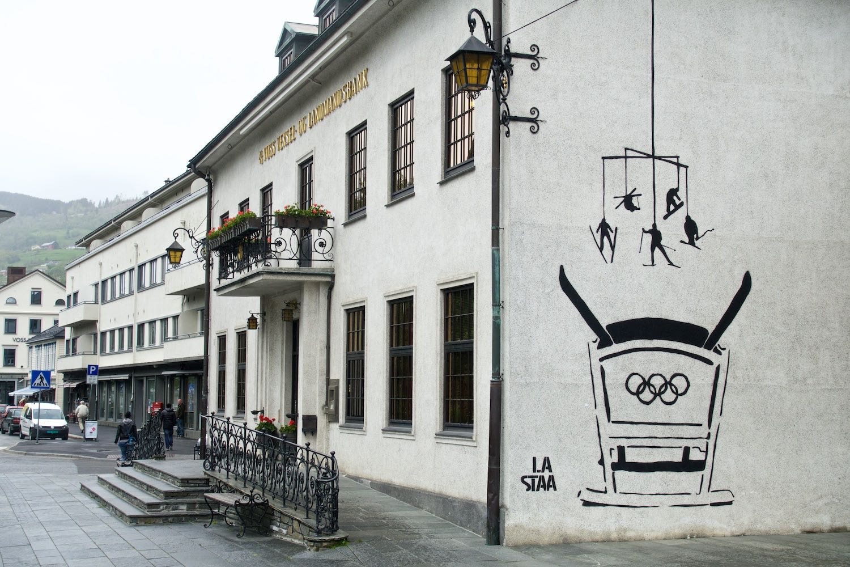 Voss, Norway - born to ski?