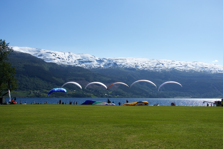 Perfect breeze at Ekstremesport Festival