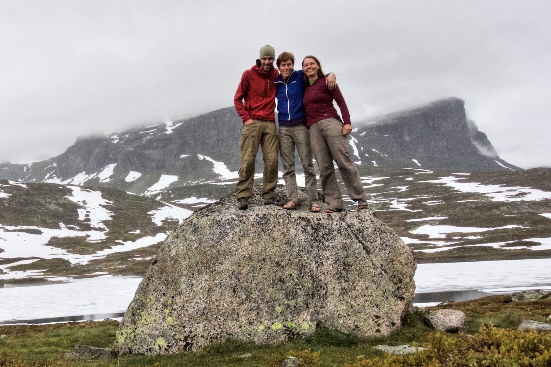 Chris, Gem, Tash in Norway