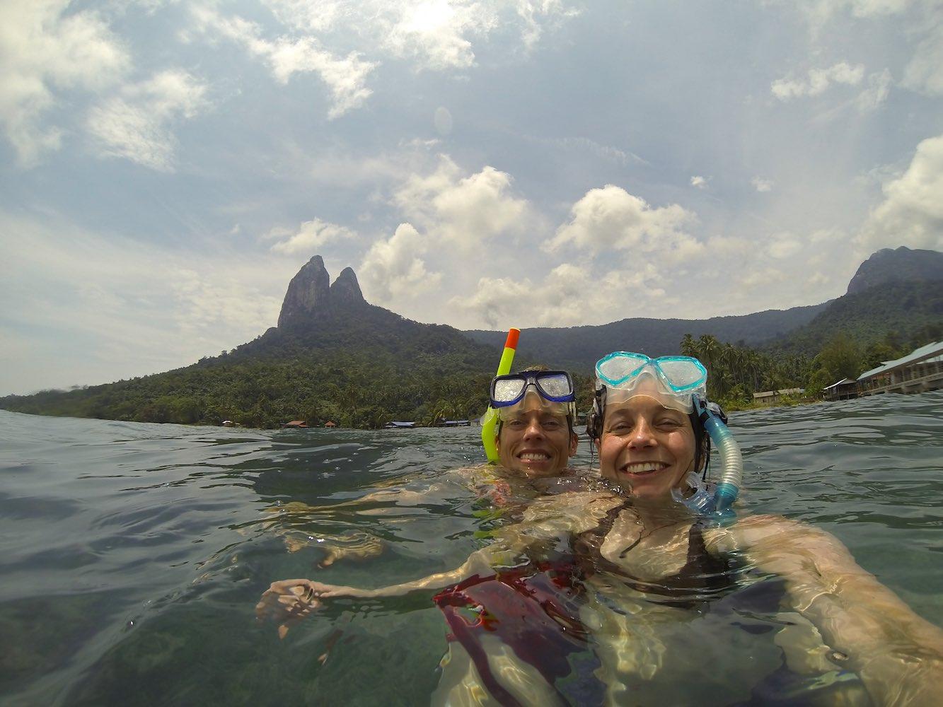 Snorkelling fun!