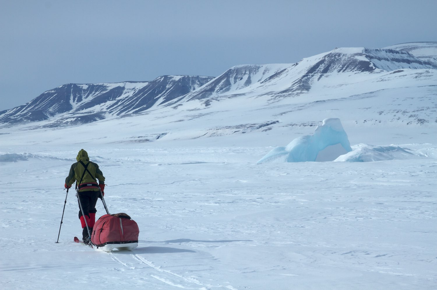 A seven day ski back to Constable Point