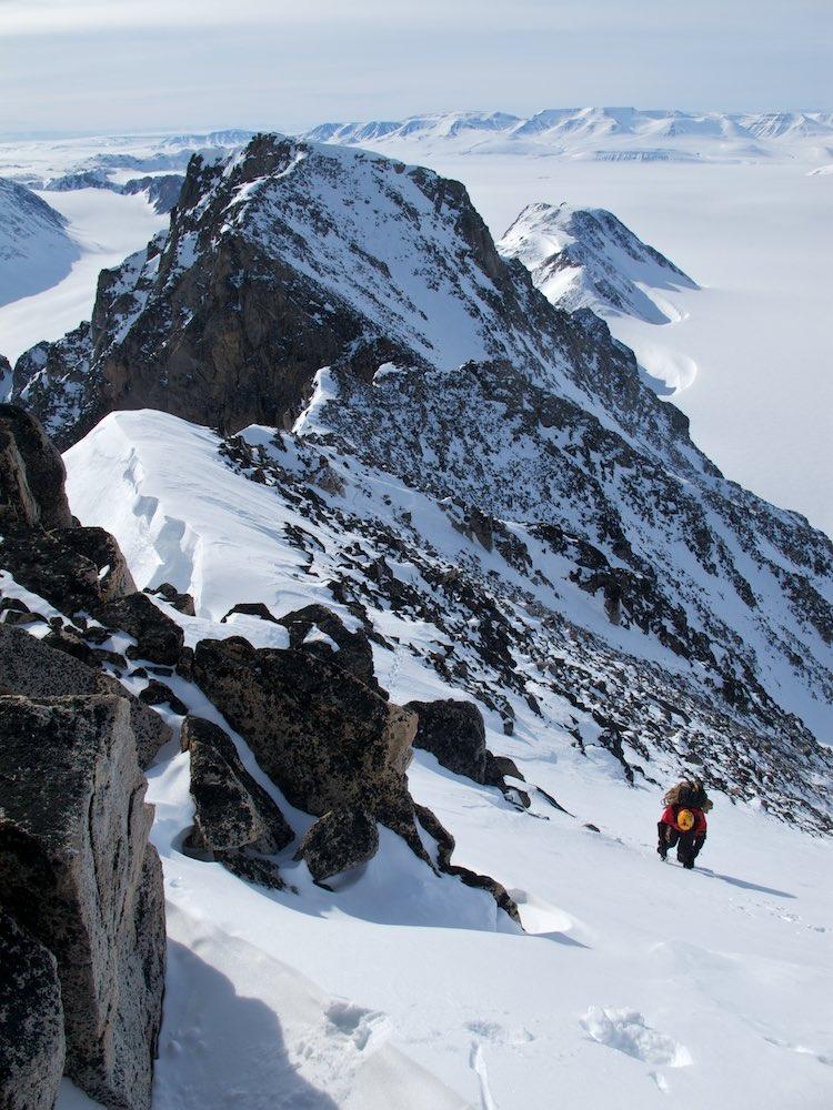 Climbing Mt Mighty