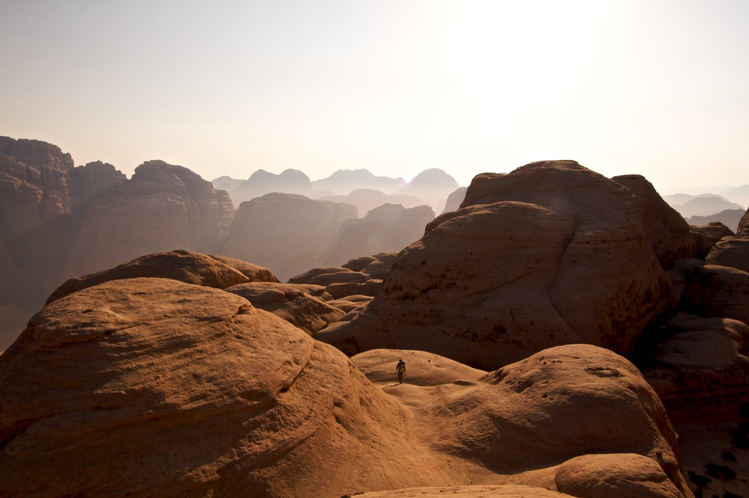 Searching for the summit of Jebel Rum