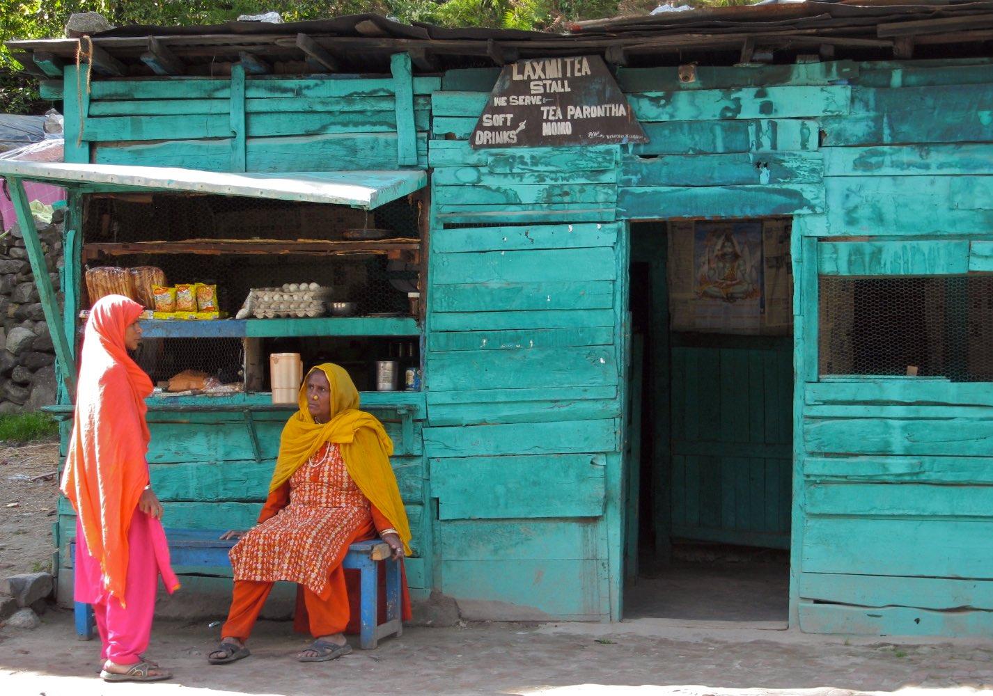 Small tea shop in Manali
