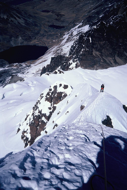Climbing Cabeza de Condor