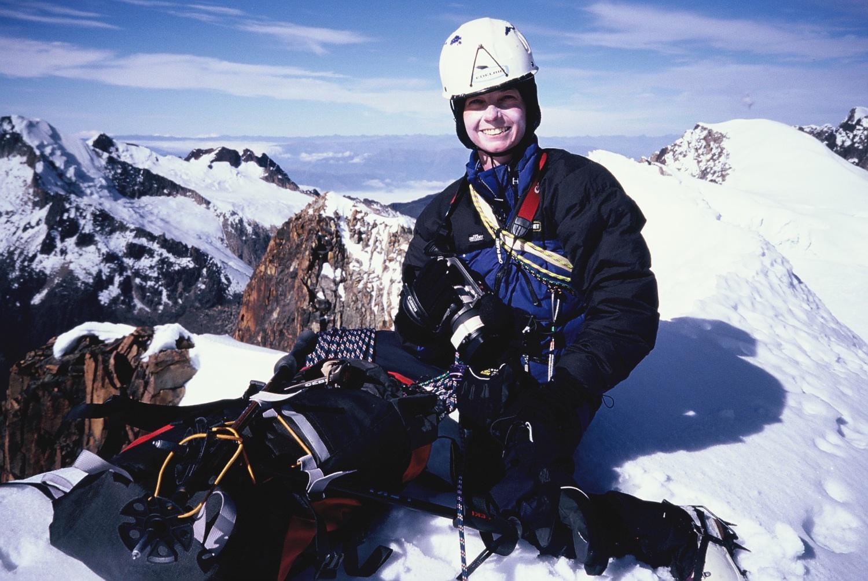 Tash on the summit of Atoroma