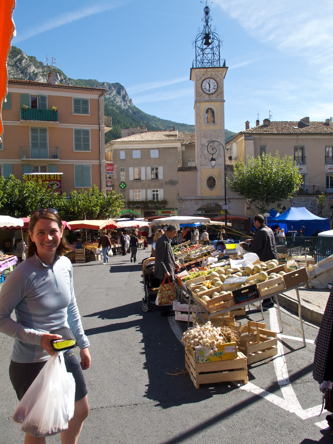 Another local market in Sisteron