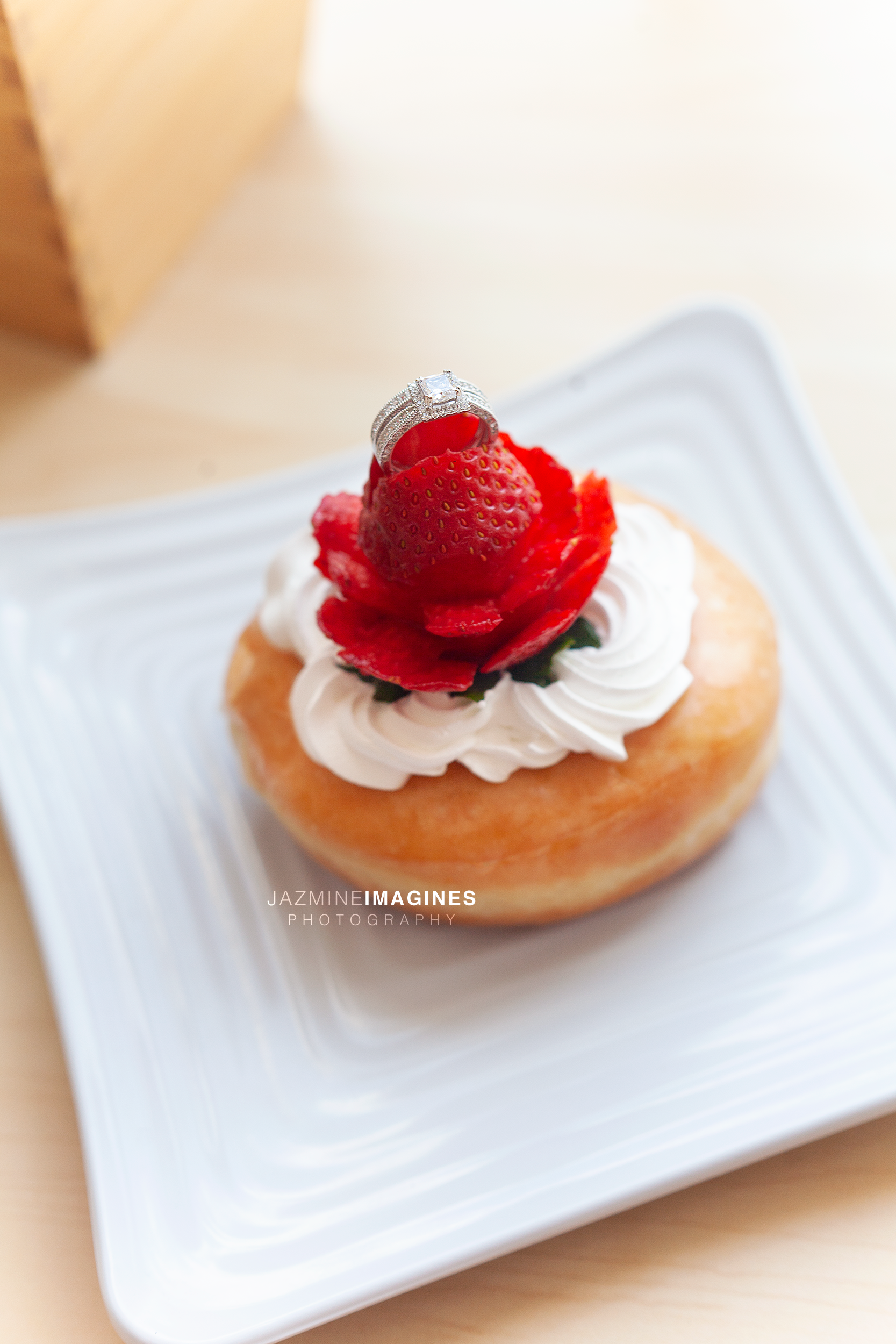 Chocolate Strawberry Donut from Wow Donuts: Photographed by Jazmine Imagines Photography