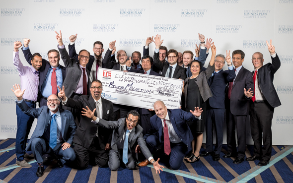 Innovative Bone Healing Technology Wins Over $700,000 from TiE at the Rice Business Plan Competition - Indo American News