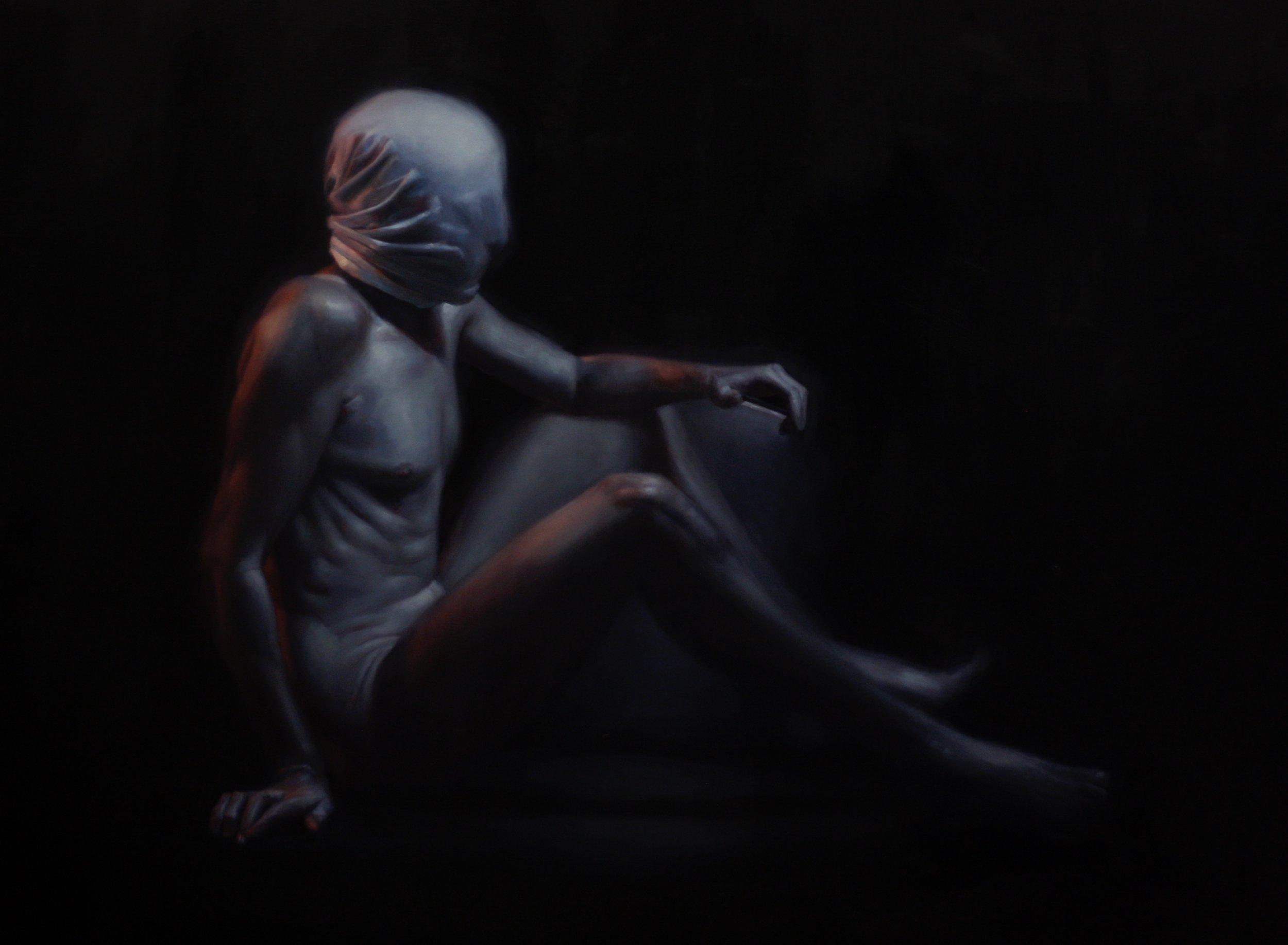 'Hostage' | oil on canvas | 91.5 x 122 cm