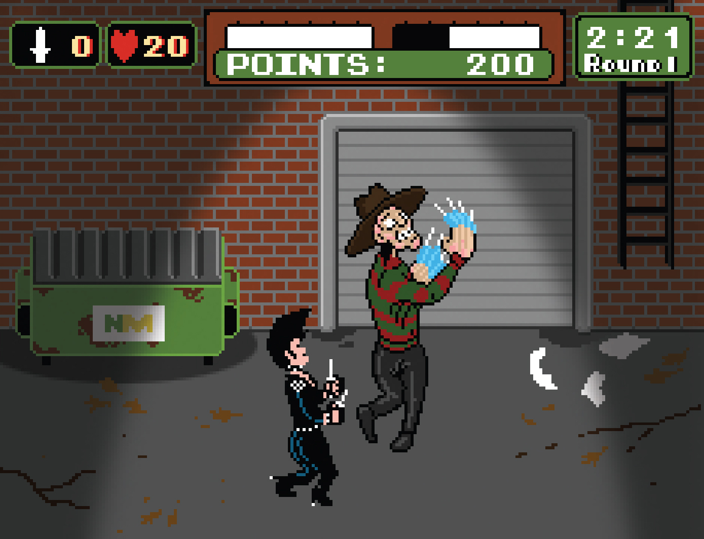 FIGHTMARES - PUNCH-OUT ON ELM STREET 3: DREAM BOXERS