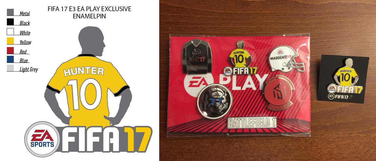 FIFA 17 Enamel Pin