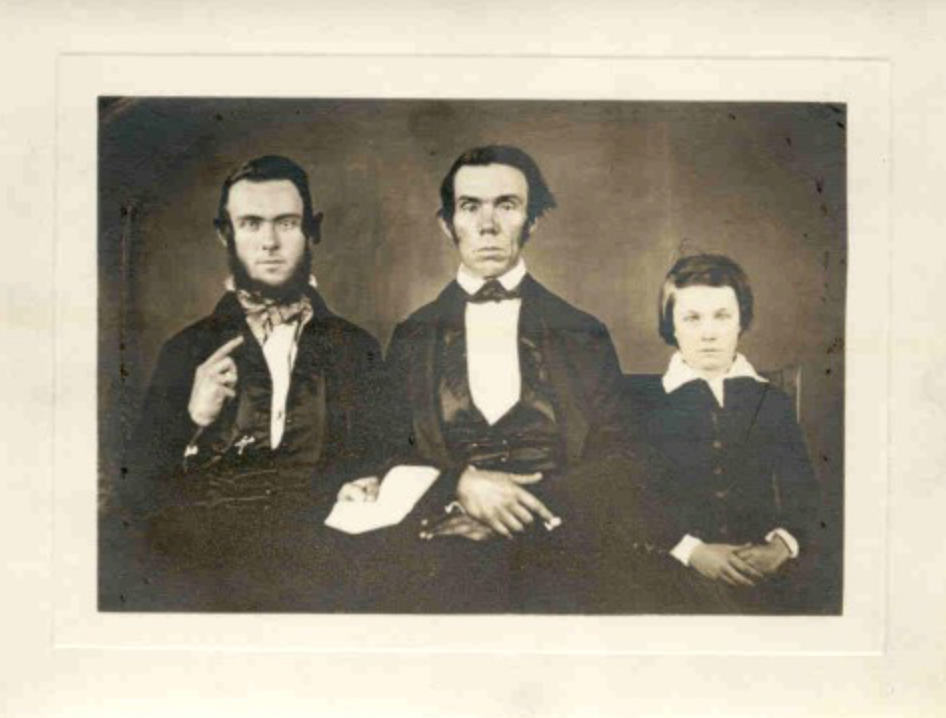 Left to right: Alexander, Bennett, and Samuel A.J.